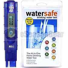 TDS-EZ + WS-425B, HM Digital ppm Tester + Watersafe City Home Tap Drinking Water