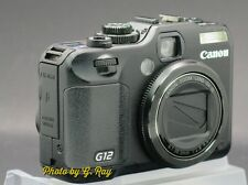 CANON PowerShot G12 Mechanically Reconditioned Digital Camera-Swivel LCD Angles