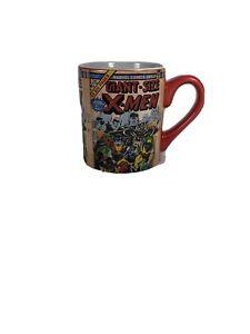 2011 Marvel Comic X-Men Coffee Mug Cup Resembles A Comic Book Format Holds 14oz