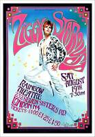 David Bowie ZIGGY STARDUST Poster Tribute to Historic 1972 Rainbow Theater Show