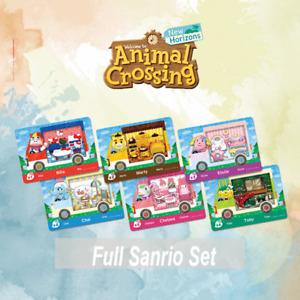 Sanrio x Animal Crossing Amiibo Cards   All 6 Characters