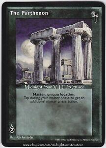 The Parthenon Final Nights V:TES VTES Vampire CCG
