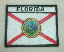 New listing Embroidered Patch Florida Flag 3.5 x 2.5 New
