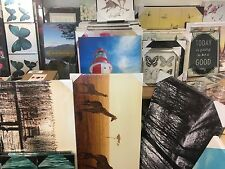 50 CANVAS WALL ART FRAMED PICTURES WHOLESALE/CLEARANCE MARKET CAR BOOT STOCK