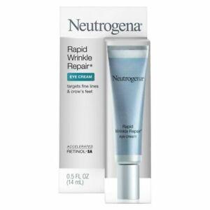 Neutrogena Rapid Wrinkle Repair Eye Cream 0.5 oz. 14ml - New - Free Shipping
