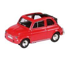 Modellini statici di auto, furgoni e camion rosso per Fiat