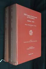 XIII Congreso Internacional de Numismatica. Madrid - 2003. Actas - Proceedings
