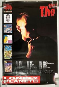 THE THE Lonely Planet Tour 1993 Epic Records US PROMO Only POSTER Matt Johnson