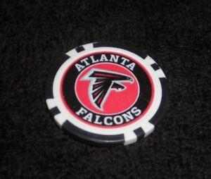 NFL ATLANTA FALCONS SOUVENIR COLLECTIBLE POKER CHIP GOLF BALL MARKER