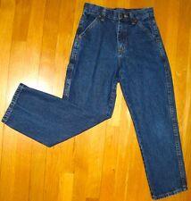 BOYS LEGENDARY GOLD DENIM BLUE JEANS - Straight Leg - SIZE 10 REGULAR - R41BBDS
