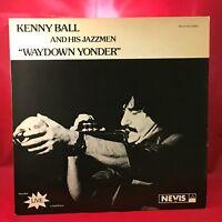 KENNY BALL Waydown Yonder 1980 UK vinyl LP EXCELLENT signed Live in Australia
