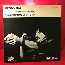 KENNY BALL Waydown Yonder 1980 UK vinyl LP EXCELLENT signed Live in Australia