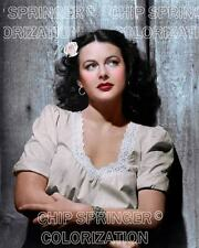 HEDY LAMARR STARRING IN TORTILLA FLATS BEAUTIFUL COLOR PHOTO BY CHIP SPRINGER
