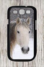 HORSE HEAD IN SNOWY WINTER SAMSUNG GALAXY S3 CASE COVER -hkb7Z