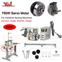750W Servo Motor for Industrial Sewing Machine Needle Position EnergySaving 220V