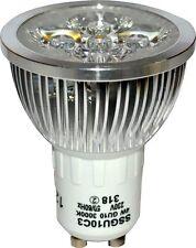 3 économie d'énergie DEL GU10 4 W Ampoules 3000K Blanc Chaud remplace 50 W halogène
