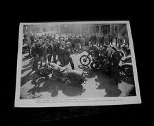 1953 Original WILD ONE MARLON BRANDO Periodical Press Kit Photo LEE MARVIN