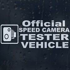 Official Speed Camera Vehicle Car Windscreen Body Panel Decal Vinyl Sticker
