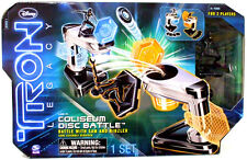 Tron Legacy Coliseum Disc Battle Set Sam & Rinzler Mib Disney Spinmaster