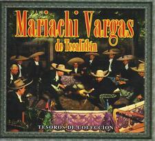 Mariachi Vargas CD NEW Tesoros De Coleccion BOX SET Con 3 CDs 30 Canciones !