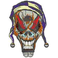 EMBROIDERY MACHINE PATTERN DESIGNS 135 SKULL WINGS REAPER AND MORE