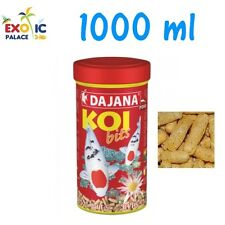 DAJANA KOI BITS 1000ml MANGIME GALLEGGIANTE IN GRANULI PER CARPE DOLCE LAGHETTO