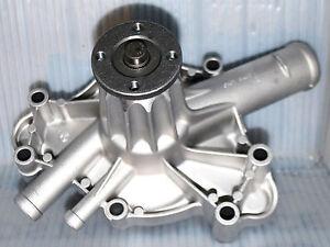 Water Pump CHRYSLER DODGE PLYMOUTH 318 340 360 Aluminum Hi Cooling Flow 8 Vane