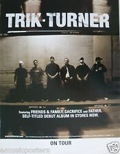 "Trik Turner ""Debut"" U.S. Promo Poster -Rap Rock Music"