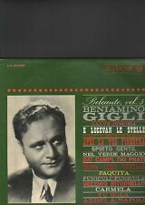 BENIAMINO GIGLI - belcanto vol. 5 LP