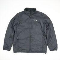 Mountain Hardware Puffer Jacket Gray Lightweight Soft Men's MEDIUM