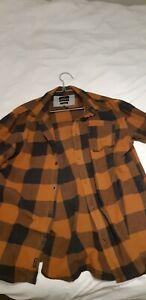 Quiksilver Box Flannel Shirt M