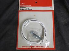 SHIMANO CABLE 3 THREE NOS SPEED TWIST GRIP or STICK SHIFT CONTROL WIRE