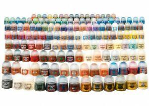 Peintures acrylique Citadel