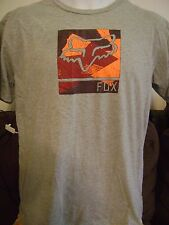 FOX RACING T SHIRT- Men's LARGE  FOXHEAD/ MX- MOTO X RACING