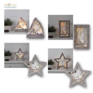 "Decorative Lights Window "" Fauna "" LED Warm White Battery Mode Christmas"