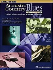 """INSIDE THE BLUES """"Acoustic Country Blues Guitar"""" MUSIC BOOK-BRAND NEW ON SALE!!"""