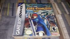 Fire Emblem (Nintendo Game Boy Advance, 2003) GBA SP Brand New Factory Sealed