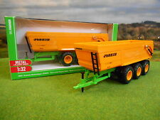SIKU JOSKIN 3 AXLE TRANS SPACE 8000 GRAIN TIPPER TRAILER 1/32 2892 *BOXED & NEW*