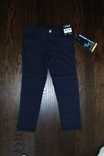 Girls French Toast navy school uniform modern adjustable waist pants NWT size 6