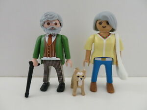 Playmobil old couple, family, grandparents, Großeltern, abuelo, abuela, opa, oma