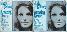 DISCO 45 GIRI     JUDY COLLINS – AMAZING GRACE // I PITY THE POOR IMMIGRANT