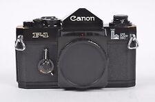 EXC++ CANON F-1 LAKE PLACID 1980 COMMEMORATIVE 35mm BODY, RARE