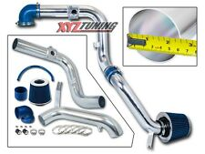 """2.5"""" BLUE Cold Air Intake Racing Induction Kit + Filter For 00-03 Focus 2.0L L4"""