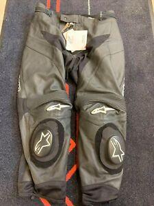 Alpinestars GP Plus Short Leg Leather Motorcycle Trousers EU 58 UK 40-42 BNWT