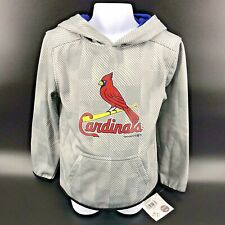 St. Louis Cardinals Hooded Sweatshirt Youth Size XS (4/5) NEW With Tags -h