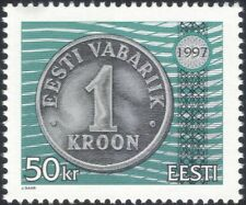 Estonia 1997 Coins/Money/Currency/Commerce/Business/History 1v (ee1177)