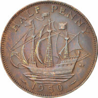 """HALF PENNY OF GEORGE VI. YOU CAN CHOOSE YOUR DATE! 1938-1952    ONE COIN/BUY!  """""""