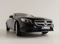 Mercedes-Benz S-Class Coupe 2014 1/18 NOREV 183482 Mercedes S-Klasse S 500 Black