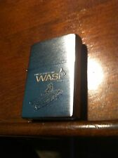 ZIPPO NAVY Military Lighter USS WASP LHD-1 Unused Lighter ESTATE FIND comb shppg