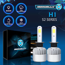 IRONWALLS H1 1500W 225000LM LED HEADLIGHT CONVERSION KIT FOG LIGHT Bulbs 6000K